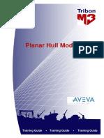 Tribon M3 - Planar Hull Modelling