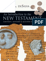 An Introduction to the New Testament - Contexts, Methods & Ministry Formation by David a. DeSilva