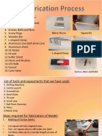 Fabrication Process Ppt