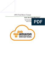 AWS Cloud Basics Concept