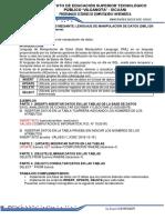 Guia 02 - Administracion de Bases de Datos - Sentencias de Manipulacion de Datos