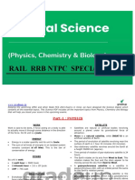 Gen Science Rail Study Materials for All
