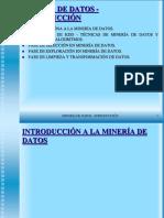 Mineria de Datos Introduccion