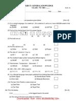 CBSE Class 6 General Knowledge Sample Paper Set C.pdf