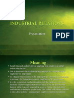 Industrial Relations Ppt