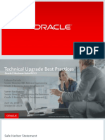 C18 Technical Upgrade Best Practices for Oracle E-Business Suite 12.2 1