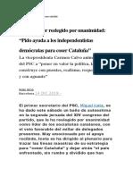 14 diciembre 2019 proces catalán