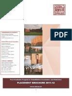 Placement Brochure, ISI Delhi, 2011-2012.pdf