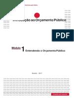 Modulo 1 - Entendendo o Orçamento Público