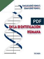 ADN en la identificación humana