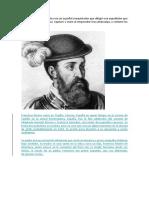 Francisco Pizarro González era un español conquistador que dirigió una expedición que conquistó el Imperio Inca.docx