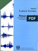 Larson Guerra, Samuel - Pensar el sonido Cap IV