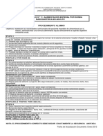 11. Lista de Cotejo Alimentacion por Sonda Nasogástrica en  adulto