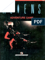 Aliens Adventure Game - Core Rules