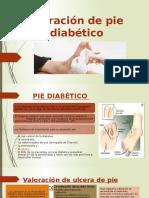Curación de pie diabético