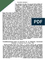Leibniz - Consideraciones Sobre La Doctrina de Un Espiritu Universal
