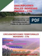 Circunscripciones Territoriales Indígenas autónomas Ecuador
