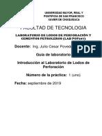 Guía laboratorio lodos