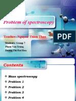 Problem of Spectroscopy