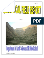 Field Report of Nammal Gorge