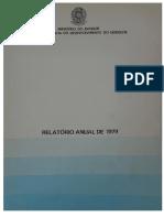 Sudene - Relatório Anual de 1979