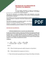 MÉTODOS DE VALORIZACIÓN DE PROSPECTOS MINEROS.pdf