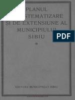 Planul de sistematizare si extensiune a municipiului Sibiu
