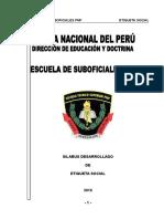 Silabo Etiqueta Social PNP