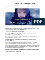 25 Characteristics Of An Indigo Child