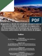 CDG - Narcosubversión en el Perú. Diagnóstico y estrategia estatal.