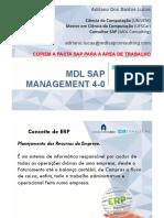 Mdl Sap Management 4.0 - Apresentacao