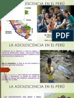 La Adolescencia en El Perú
