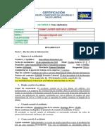 Investigacion de Accidentes Laborales - Caso Aplicativo