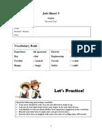 Job Sheet 3 Recount Text