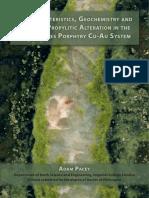 Pacey 2016 Geochemistry Propilitic Alteration Cu-Au