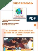 PAUTAS DE CRIANZA Y RESPONSABILIDAD