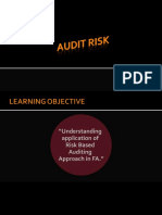 07- Assessing Audit Risk