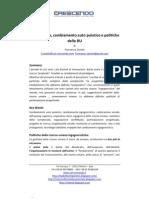 Complessità e politiche RU