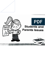 Parent Students Issues