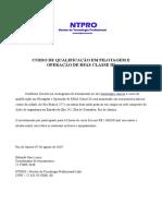 Declaração de Participação