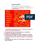 10 TÁBUAS DO MANIFESTO COMUNISTA – O BRASIL JÁ ESTÁ QUASE LÁ
