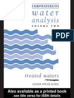 Treated Waters Analysis
