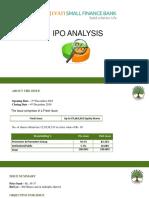 Samnidhy - Ujjivan SFB IPO