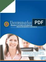 Guía Didáctica 1 Tendencias Actuales Del Objeto de Estudio de La Licenciatura 2017-1