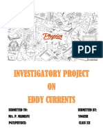 317114162-EDDY-CURRENT-AND-APPLICATIONS-PROJECT class 12 physics investigatory project