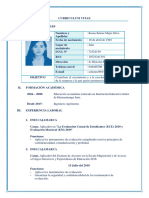 CV DOCUMENTADO PRONABE