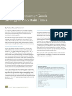 Retail and Consumer Goods Strategy