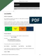 Medidas de Posición_ Los Cuartiles