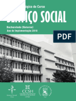 Projeto Pedagógico do Curso - Serviço Social UFSM