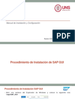 Ppt Sap Pm - Instalacion Sap Gui